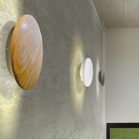 drewniane lampy