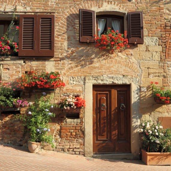 Dom w stylu rustykalnym