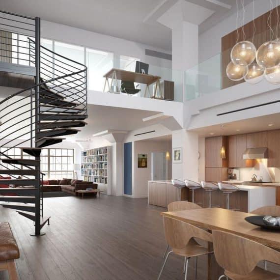 loft industrialny