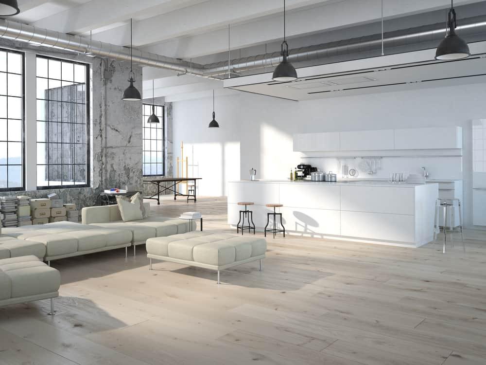 loft styl industrialny